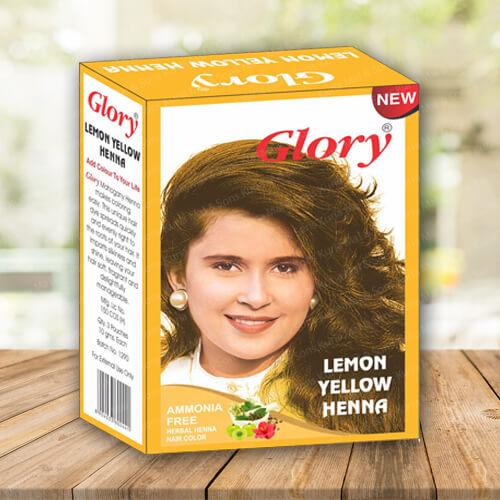 Lemon Yellow Henna