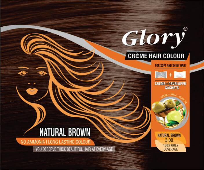 Natural Brown Crème Hair Color