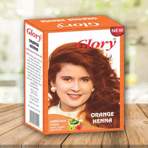 Orange Henna